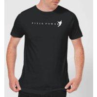 Disney Peter Pan Tinkerbell Pixie Power Men's T-Shirt - Black - L - Black