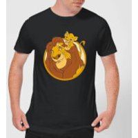 Disney Mufasa & Simba Men's T-Shirt - Black - M - Black