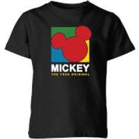 Disney Mickey The True Original Kids' T-Shirt - Black - 11-12 Years - Black