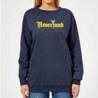 Disney Peter Pan Tinkerbell Neverland Women's Sweatshirt - Navy - XXL - Navy
