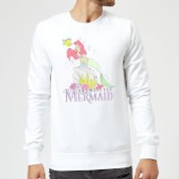 Disney Little Mermaid Sweatshirt - White - L - White