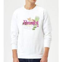 Image of Disney Bambi Kiss Sweatshirt - White - S - White
