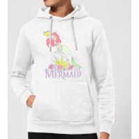 Disney Little Mermaid Hoodie - White - M - White - Mermaid Gifts