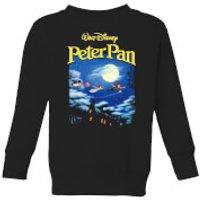 Disney Peter Pan Cover Kids' Sweatshirt - Black - 11-12 Years - Black - Peter Pan Gifts