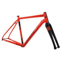 Kinesis Tripster AT Frameset - Columbus Fork - 48cm - Orange