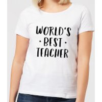World's Best Teacher Women's T-Shirt - White - 4XL - White