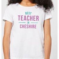 Best Teacher In Cheshire Women's T-Shirt - White - 5XL - White