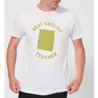 Best English Teacher Men's T-Shirt - White - S - White