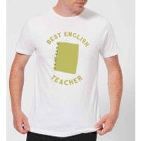 Best English Teacher Men's T-Shirt - White - S - White