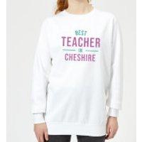 Best Teacher In Cheshire Women's Sweatshirt - White - XL - White
