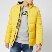 Superdry Men's Sports Puffer Jacket - Sulphur - M