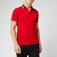 Superdry Men's Classic Lite Micro Sports Polo Shirt - Rouge Red - M