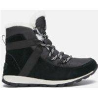 Sorel Women's Whitney Flurry Waterproof Suede/Leather Hiking Style Boots - Black - UK 6