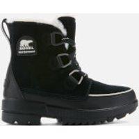 Sorel Women's Torino Waterproof Suede Hiking Style Boots - Black - UK 6