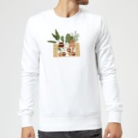 Vegetable Box Sweatshirt - White - XL - White