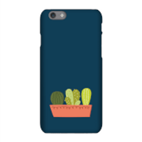 Cacti In Long Pot Phone Case for iPhone and Android - Samsung S6 Edge - Snap Case - Gloss
