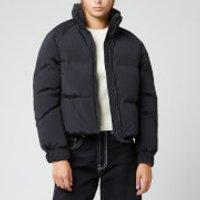 Woolrich Womens Aurora Puffy Jacket - Black - L