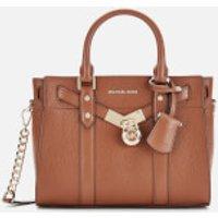 MICHAEL MICHAEL KORS Womens Nouveau Hamilton Small Satchel Bag - Luggage
