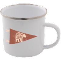Welcome To California Enamel Mug – White - Mug Gifts