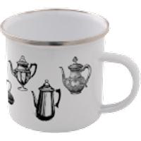 Kettles Enamel Mug – White - Mug Gifts