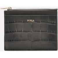 Furla Women's Babylon Small Zip Card Case - Grey