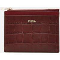 Furla Women's Babylon Small Zip Card Case - Red