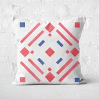 Aztec Pattern Square Cushion - 50x50cm - Soft Touch