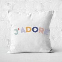 J'Adore Square Cushion - 40x40cm - Soft Touch