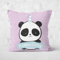 Pandacorn Square Cushion - 40x40cm - Soft Touch