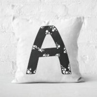 Handwritten A Square Cushion - 50x50cm - Soft Touch