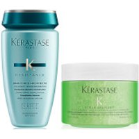 Kerastase Resistance Bain Force and Soothing Scrub Duo 250ml
