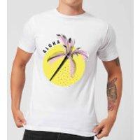 Aloha Men's T-Shirt - White - 5XL - White