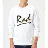 Rad Sweatshirt - White - XXL - White