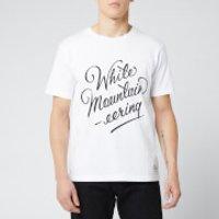 White Mountaineering Men's Printed T-Shirt - White - L