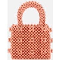 Shrimps Women's Mini Antonia Pearl Handbag - Vermillion Orange