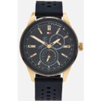 Tommy Hilfiger Men's Austin Metal Strap Watch - Black
