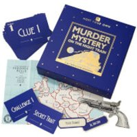 Host Your Own - Murder Mystery on the Night Train Game - Train Gifts