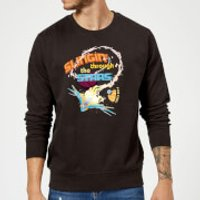 Marvel Guardians Of The Galaxy Milano Stars Sweatshirt - Black - 5XL - Black - Guardians Of The Galaxy Gifts