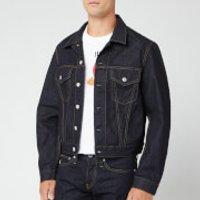 Helmut Lang Men's Josephine Trucker Jacket - Raw Indigo - S