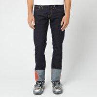 Helmut Lang Men's Josephine Lo Drainpipe Jeans - Raw Indigo - W30