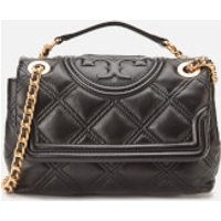 shop for Tory Burch Women's Fleming Soft Small Convertible Shoulder Bag - Black at Shopo