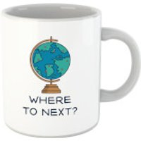 Globe Where To Next? Mug