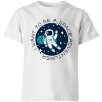 I Want To Be A Space Adventurer Kids' T-Shirt - White - 11-12 Years - White