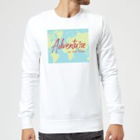 Adventure Is Out There Sweatshirt - White - 5XL - White
