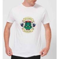 Vintage Old School Backpacker Men's T-Shirt - White - XXL - White - School Gifts