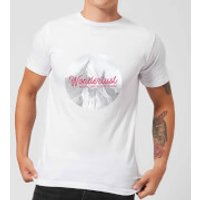Mountain Wonderlust Adventure Is Out There Men's T-Shirt - White - XXL - White