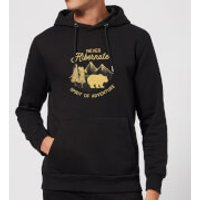 Never Hibernate Spirit Of Adventure Hoodie - Black - L - Black