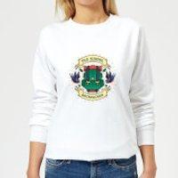 Vintage Old School Backpacker Women's Sweatshirt - White - XXL - White - School Gifts