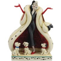 Disney Traditions - The Cute and the Cruel (Cruella and Puppies Figurine) - Puppies Gifts