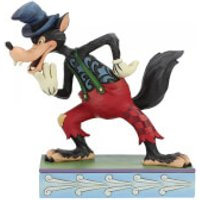 Disney Traditions - I'll Huff and I'll Puff! (Silly Symphony Big Bad Wolf Figurine) - Silly Gifts